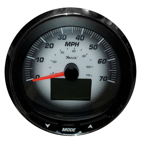 "Faria 5"" Multifunction Gauge - 70MPG - LCD w/o PP - Depth - Black Fade [MGS023]"