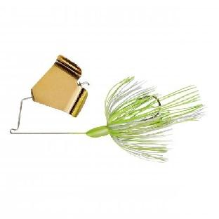 War Eagle Buzzbait 3-8oz Gold-Hot White Chartreuse