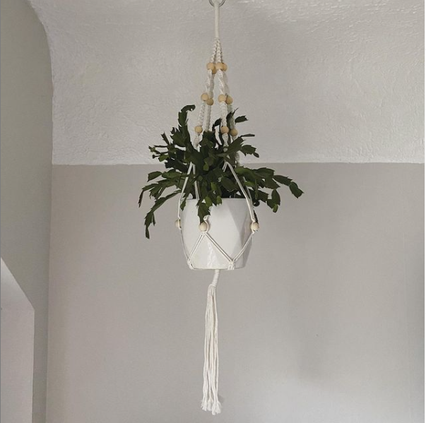 Macrame Hanger with Beads
