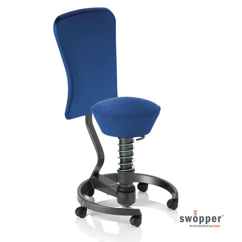 Swopper Work Microfibre Royal-Blue