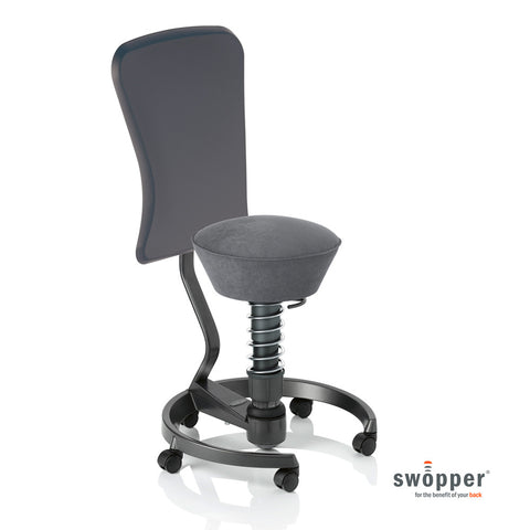 Swopper Work Microfibre Smoke-Grey