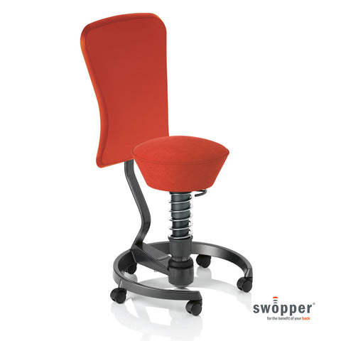 Swopper Work Microfibre Ferraro Red