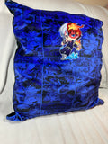 Large manga style plush pillow case
