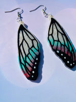 Poison Butterfly Wing Earrings