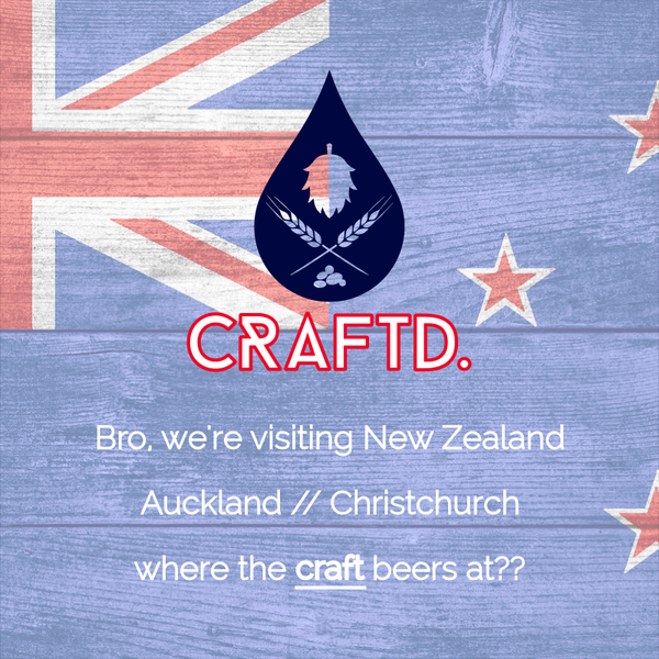 CRAFTD. goes home to NZL // New orders shipped on 2nd Feb