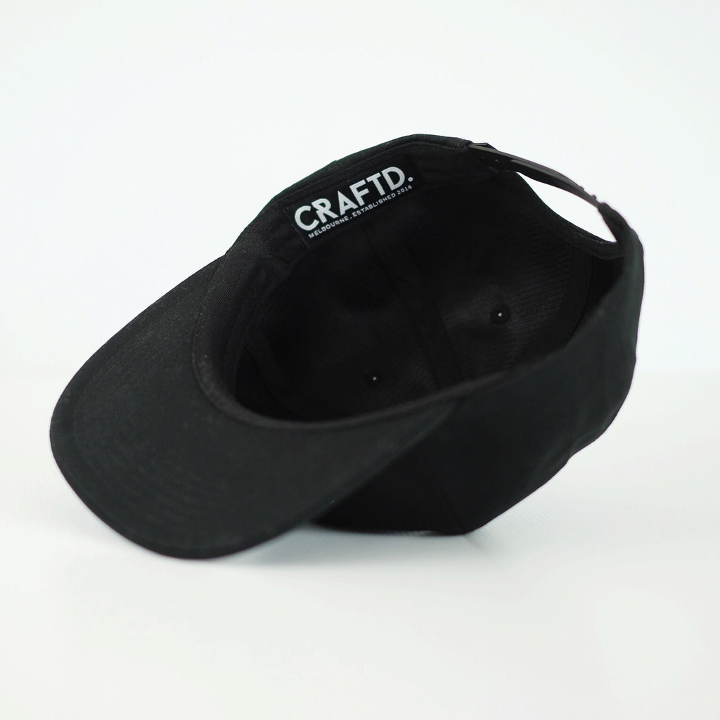 CRAFTD. wear craft beer clothing snapback Melbourne