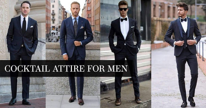 Cocktail Attire for Men | 2021 Dress Code