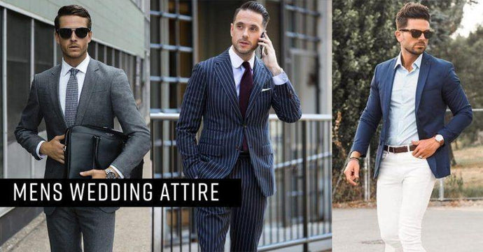 Wedding Attire for Men | Modern Styles