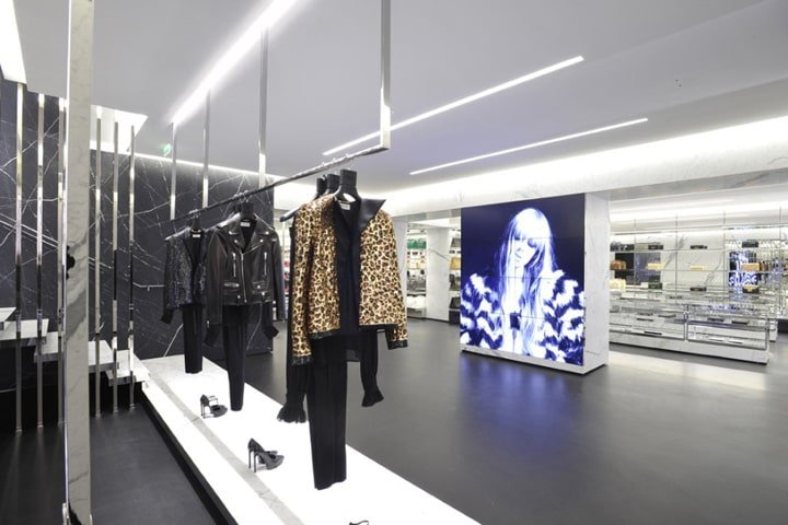 Saint Laurent flagship boutique