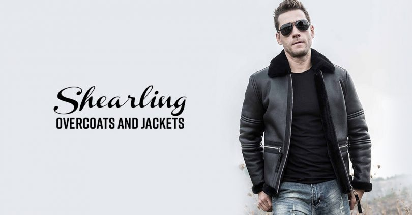 Shearling Jackets & Coats