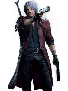 Devil May Cry V Dante Leather Coat - Wiseleather