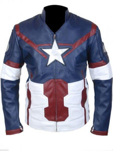 Avengers Age of Ultron Chris Evans Jacket