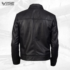 90'S Style Leather Jacket For Men - Wiseleather