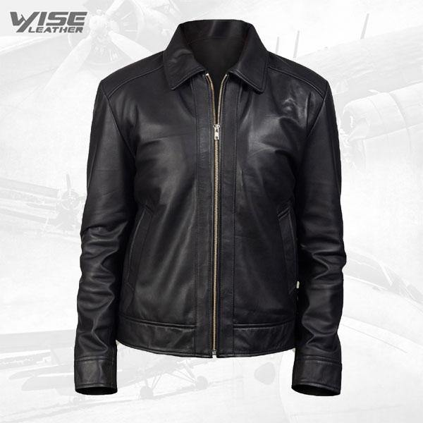 90'S Style Leather Jacket For Men