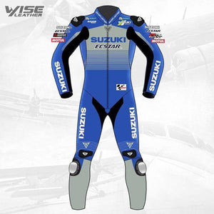 Alex Rins Suzuki Motorcycle Leather Suit 2020 - Wiseleather