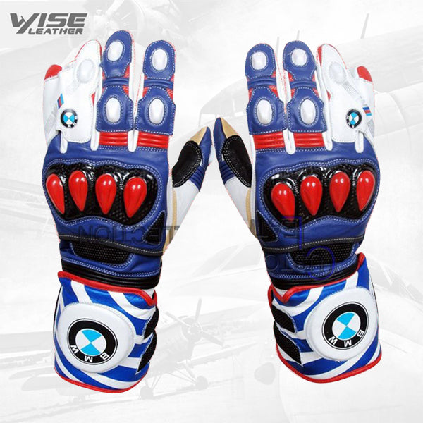 BMW Motorbike Leather Gloves