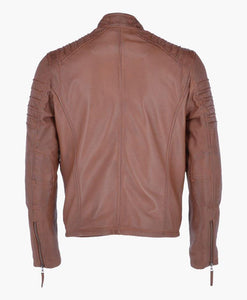 BRAND NEW MEN'S LEATHER BIKER JACKET - Wiseleather