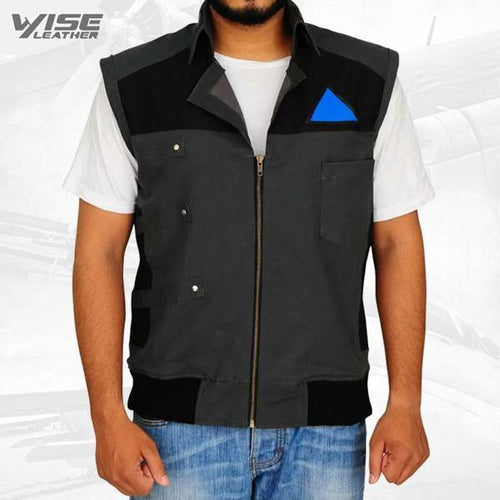 Detroit Become Human Markus Black Vest