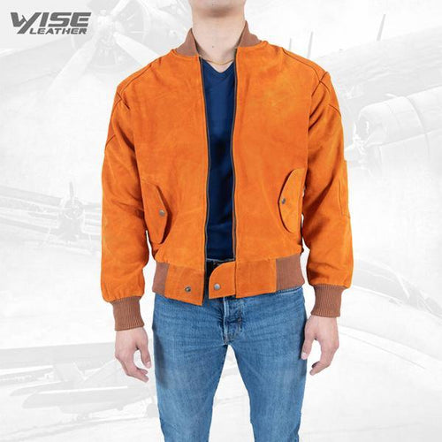 Exclusive Men Leather Jacket Mastero Pure Suede Leather Jacket
