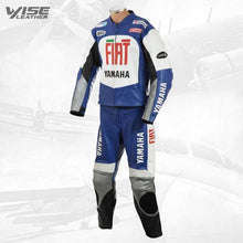 FIAT YAMAHA MOTOGP REP MOTORCYCLE LEATHER SUIT