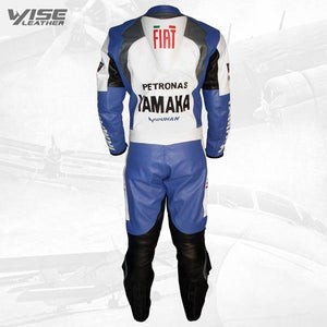 FIAT YAMAHA MOTOGP REP MOTORCYCLE LEATHER SUIT - Wiseleather