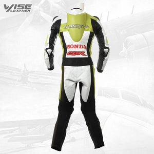 HANNSPREE HONDA CBR LIMITED EDITION MOTORCYCLE LEATHER SUIT - Wiseleather