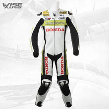 HANNSPREE HONDA CBR LIMITED EDITION MOTORCYCLE LEATHER SUIT