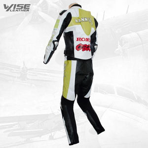 HONDA HANNSPREE LIMITED EDITION RACE LEATHER SUIT - Wiseleather