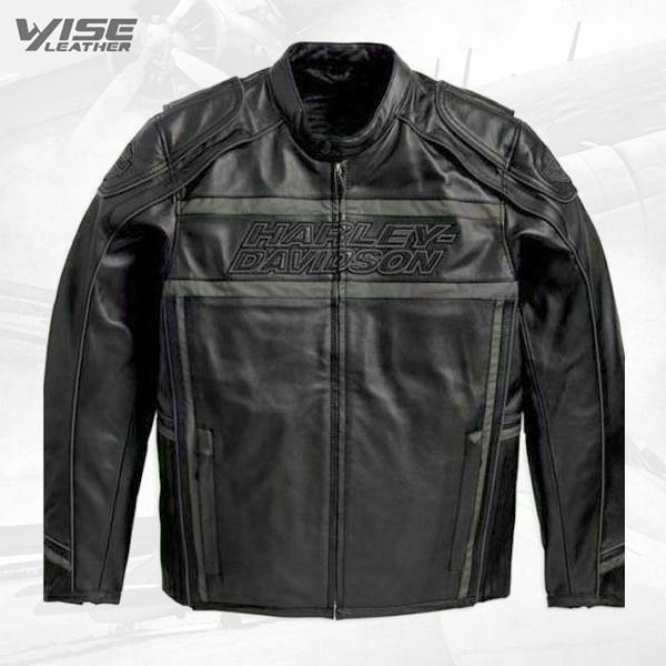 Harley Davidson Men's Luminator 360 Black Leather Jacket