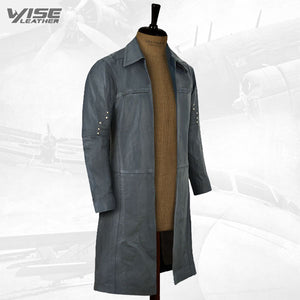 IDRIS ELBA THE DARK TOWER LEATHER LONG COAT