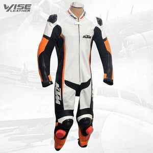 KTM RACE LEATHER MOTORCYCLE SUIT - Wiseleather