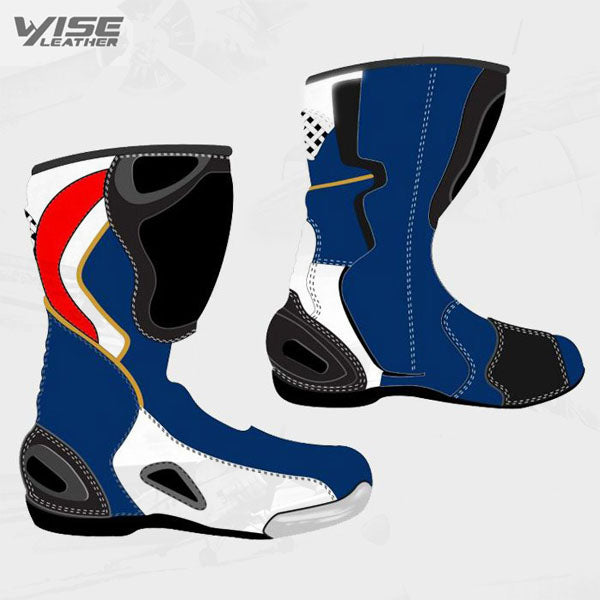 MOTORBIKE RIDER LEATHER FOOTWEAR