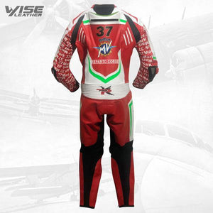 MV AGUSTA PRO ITALIA SPECIAL EDITION RACE LEATHER SUIT - Wiseleather