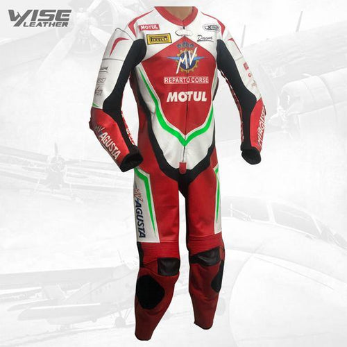 MV AGUSTA PRO ITALIA SPECIAL EDITION RACE LEATHER SUIT
