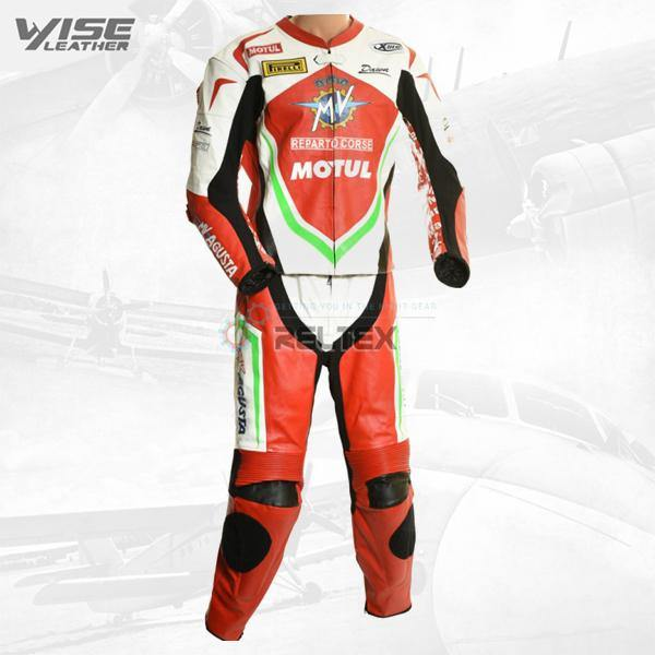 MV AGUSTA SBK RACE EDITION LEATHER MOTORCYCLE SUIT