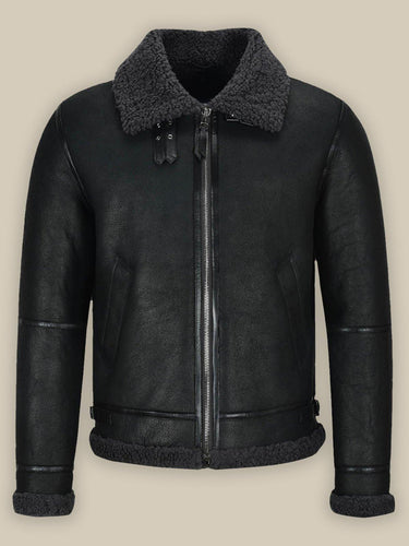 MEN'S B3 AIR FORCE SHEARLING JACKET