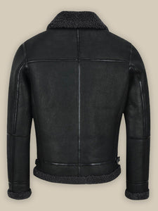 MEN'S B3 AIR FORCE SHEARLING JACKET - Wiseleather