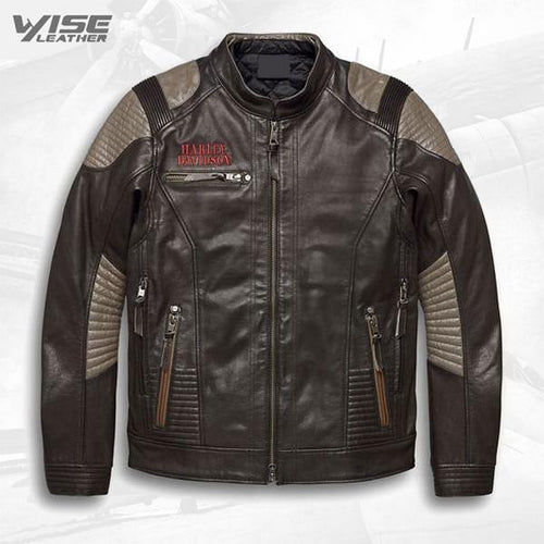 Men's Harley Davidson Exhort Leather Motorcycle Jacket