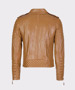 MENS REAL LEATHER JACKETS FOR MOTORCYCLE BIKER - Wiseleather