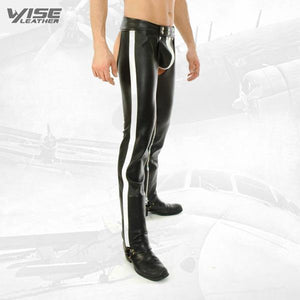 Mens Real Leather Assless Chap - Wiseleather