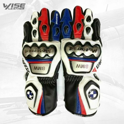 New Motorrad MotoGp racing leather Gloves Motorbike Leather Glove