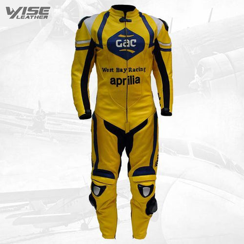 PRO GAC MOTORCYCLE RACING LEATHER SUIT