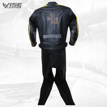 RIZLA BLACK SPECIAL EDITION MOTORCYCLE LEATHER SUIT