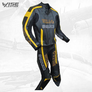 RIZLA BLACK SPECIAL EDITION MOTORCYCLE LEATHER SUIT - Wiseleather