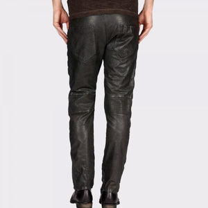 ROWDY AND CLASSY LEATHER PANT - Wiseleather