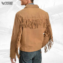 Scully Fringed Suede Leather Short Jacket