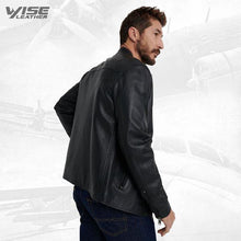 Trendy Black Jacket For Men