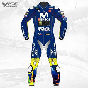 Valentino Rossi Motorcycle Leather Suit - Wiseleather