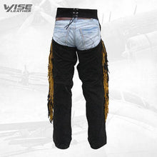Western Leather Indian Chaps Pants ,Western Carnival Fasching