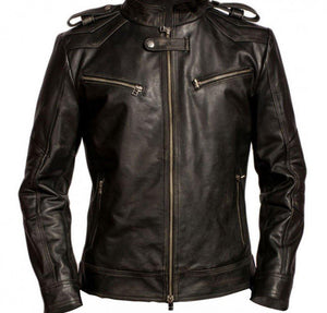 AARON PAUL BREAKING BAD LEATHER JACKET - Wiseleather